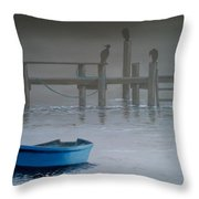 All Flights Delayed Throw Pillow