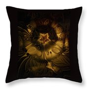 All Gold Throw Pillow
