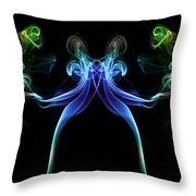 All Guns Blazing 1 Throw Pillow