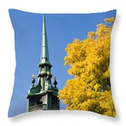 All Hallows By The Tower Throw Pillow