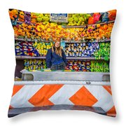 All Her Ducks In A Row Throw Pillow