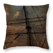 All I Ask Is A Tall Tall Ship Throw Pillow