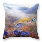 All In A Dream - Impressionism Throw Pillow