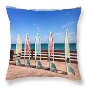 All In A Row Too Throw Pillow