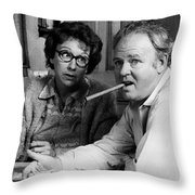 All In The Family Throw Pillow by Mountain Dreams