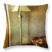 All In The Golden Afternoon Throw Pillow