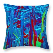 All Inclusive Fete Throw Pillow