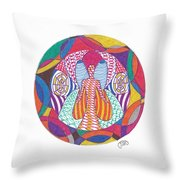 All Knowledge Is Within You Throw Pillow
