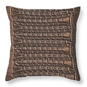 All Lined Up 5 - Digital Effect Throw Pillow