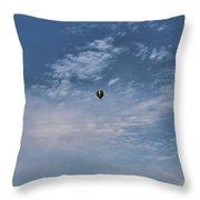 Hot Air Balloons Findlay Ohio Throw Pillow