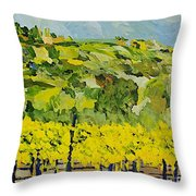 All Most Harvest Time Throw Pillow