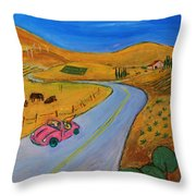 All My Loving I Will Send To You Throw Pillow