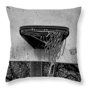 All Net Throw Pillow
