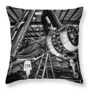 All Opened Up Throw Pillow