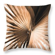 All Points Fern Throw Pillow