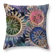 All Points Throw Pillow