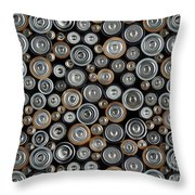 All Positive Throw Pillow