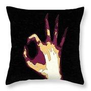 All Righty Then Throw Pillow