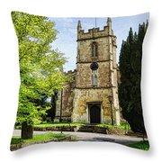 All Saints Church Weston Bath Throw Pillow