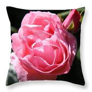 All Shades Of Pink Throw Pillow