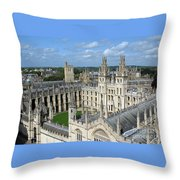 All Souls College Throw Pillow
