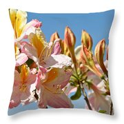 All Stages Of Bloom Throw Pillow