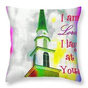 All That I Am Throw Pillow