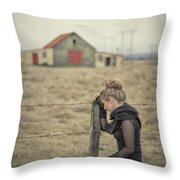 All That's Left Behind Throw Pillow