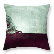 All That's Left Behind Throw Pillow by Trish Mistric