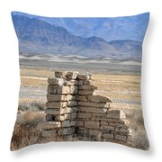 All That's Left Throw Pillow