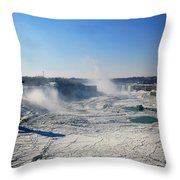 All The Falls Throw Pillow