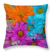 All The Flower Petals In This World 2 Throw Pillow by Kume Bryant