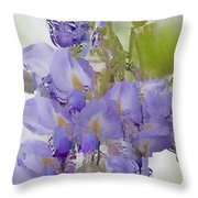 All The Flower Petals In This World 7 Throw Pillow