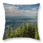 All The Way To The Islands Throw Pillow