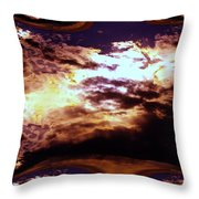 All The Wild Clouds Throw Pillow