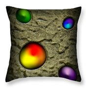 All Things In Their Place Throw Pillow