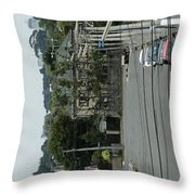 All Tied Down  Throw Pillow