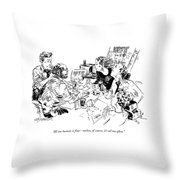 All Too Human Is Fine - Unless Throw Pillow