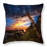 All Trails End Throw Pillow