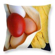 All Work No Souffle Throw Pillow