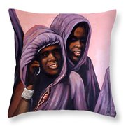All Ye Nations Throw Pillow