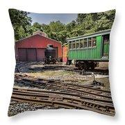 Allaire Rail Yard Throw Pillow