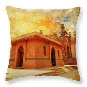 Allama Iqbal Tomb Throw Pillow