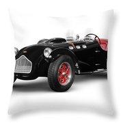 Allard J2x Vintage Sports Car Throw Pillow