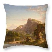 Allegro  Throw Pillow