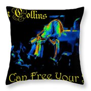 A C Can Free Your Bird #2 Throw Pillow