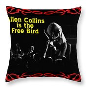 A C  Is The Free Bird 2 Throw Pillow