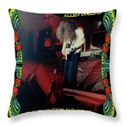 A C  Winterland Bong 6 Throw Pillow