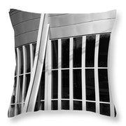 Allen County Museum Black And White Throw Pillow