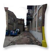 Alley 11 Throw Pillow